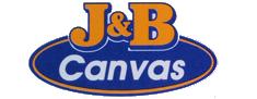 J&B Canvas Canberra Logo